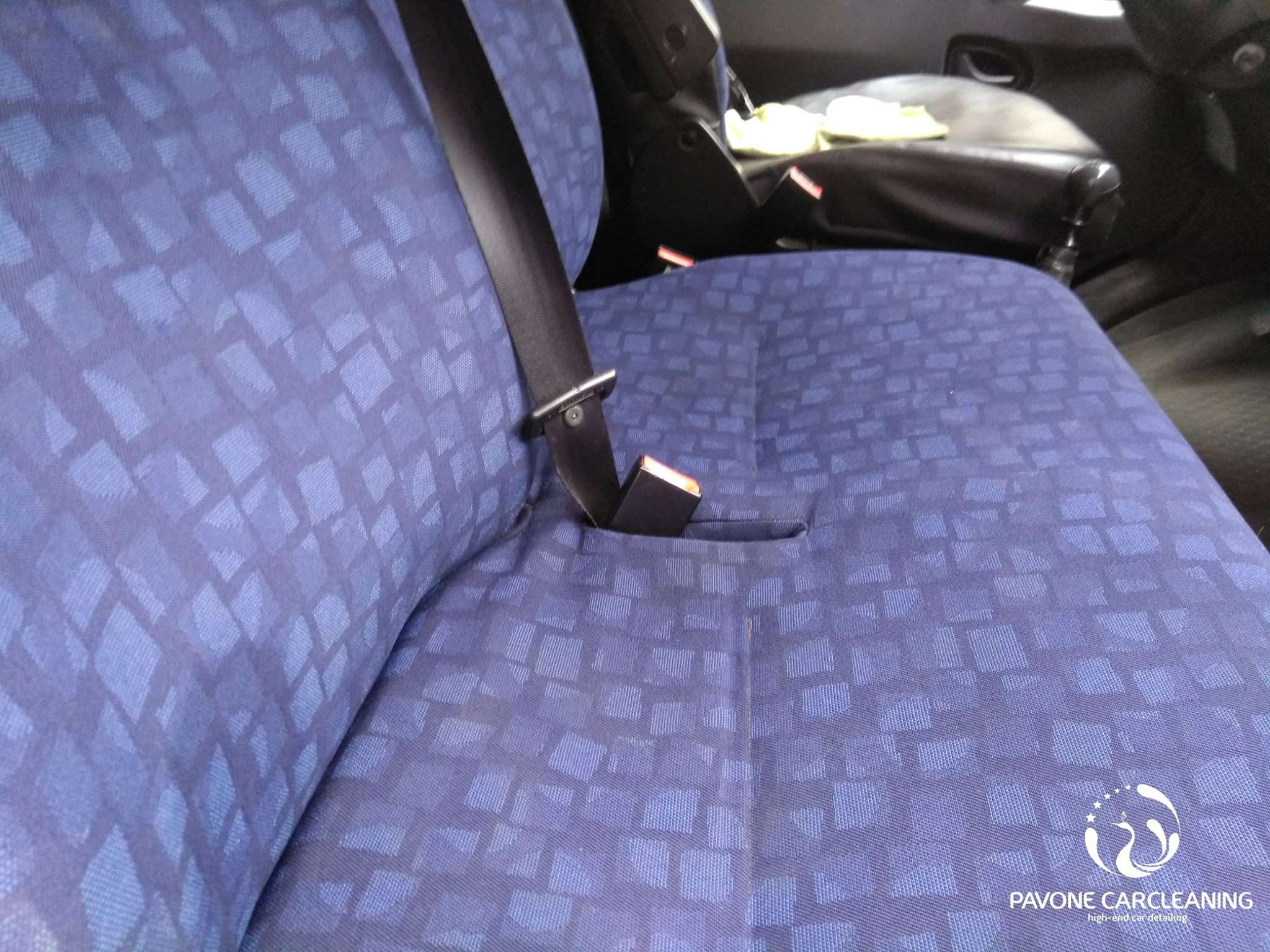 Interieur Iveco Daily na behandeling